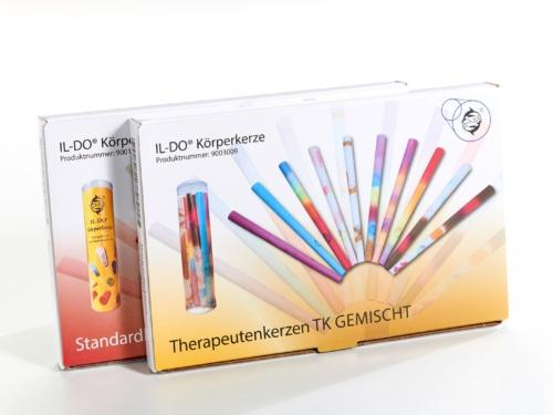 Mehrfarbige Therapeutenkerzen – SET