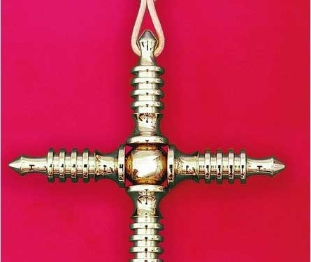 Weber-Isis®-Kreuz (vergoldet)